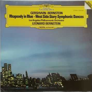 2532 082 Gershwin Bernstein RHAPSODY IN BLUE WEST SIDE STORY SYMPHONIC DANCES Vinyl LP