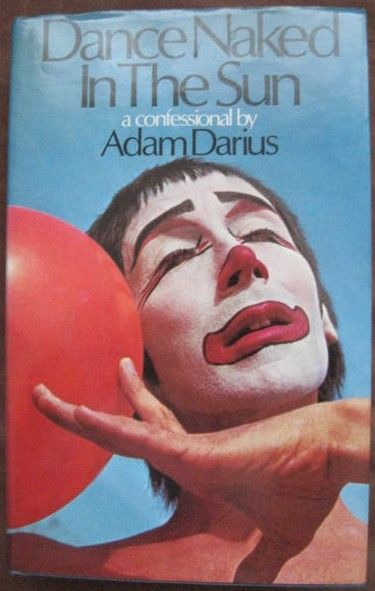 Adam Darius DANCE NAKED IN THE SUN First Edition Signed
