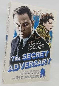 Agatha Christie THE SECRET ADVERSARY Double Signed Paperback