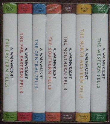 Alfred Wainwright THE PICTORIAL GUIDES TO THE LAKELAND FELLS Box Set Sealed