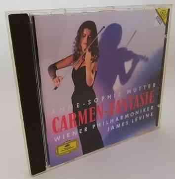 Anne-Sophie Mutter CARMEN-FANTASIE Classical CD 1993 France No IFPI