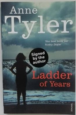 Anne Tyler LADDER OF YEARS Signed Paperback
