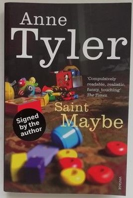 Anne Tyler SAINT MAYBE Signed Paperback