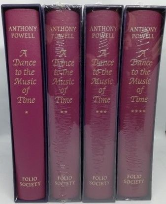 Anthony Powell A DANCE TO THE MUSIC OF TIME Folio Society 4 Volume Set 3 Sealed