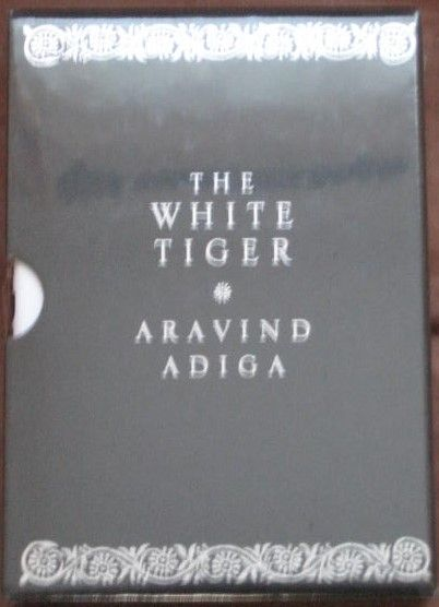 Aravind Adiga THE WHITE TIGER Signed Limited Edition Sealed