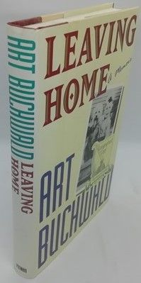 Art Buchwald LEAVING HOME Signed Hardback