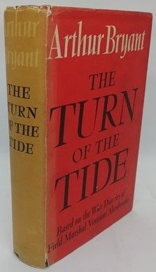 Arthur Bryant THE TURN OF THE TIDE First Edition Signed