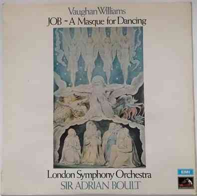 ASD 2673 Vaughan Williams JOB A MASQUE FOR DANCING Vinyl LP TAS Listed