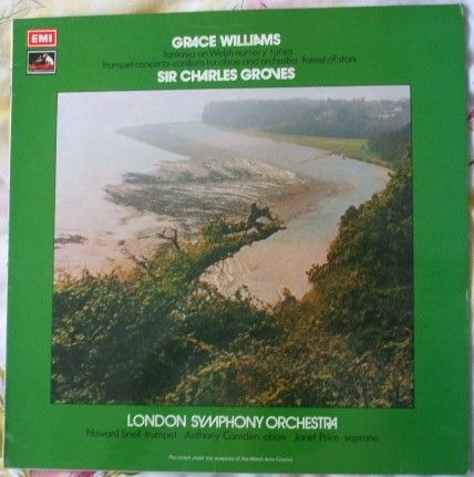 ASD 3006 Grace Williams FANTASIA ON WELSH NURSERY TUNES Vinyl LP Groves TAS Listed
