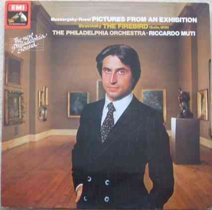 ASD 3645 Mussorgsky-Ravel PICTURES FROM AN EXHIBITION Vinyl LP Muti