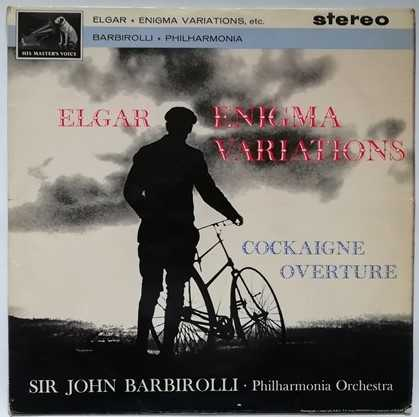 ASD 548 Elgar ENIGMA VARIATIONS Vinyl LP First Pressing
