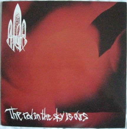 At The Gates THE RED IN THE SKY IS OURS Vinyl LP 1992