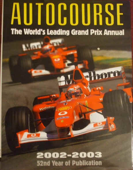 AUTOCOURSE 2002-2003 Grand Prix Annual