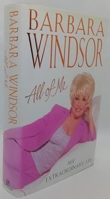 Barbara Windsor ALL OF ME First Edition Signed