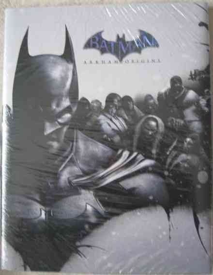 Batman ARKHAM ORIGINS Limited Edition Strategy Guide Sealed