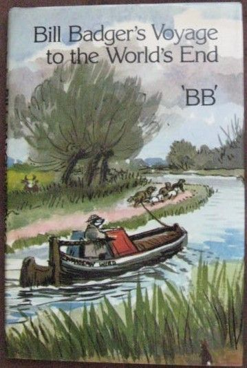 BB BILL BADGER'S VOYAGE TO THE WORLD'S END Reprint Hardback 1976