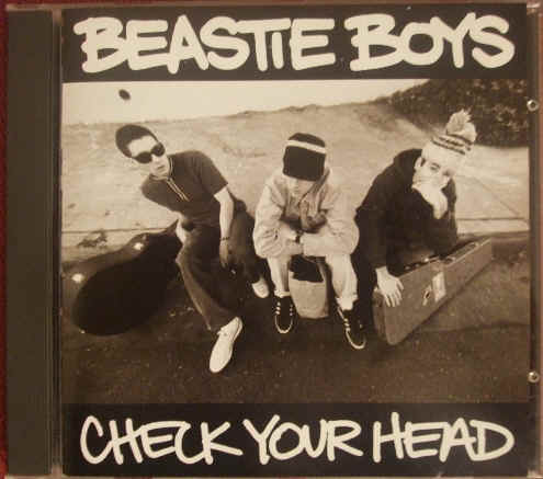 Beastie Boys CHECK YOUR HEAD CD