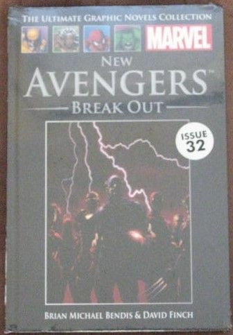 Bendis Finch NEW AVENGERS BREAK OUT Graphic Novel Sealed