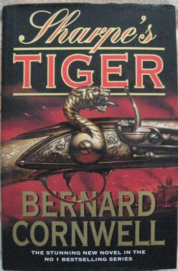 Bernard Cornwell SHARPE'S TIGER First Edition Signed