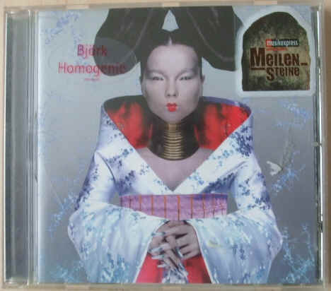 Bjork HOMOGENIC CD 1997