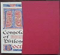 Boethius THE CONSOLATION OF PHILOSOPHY Folio Society