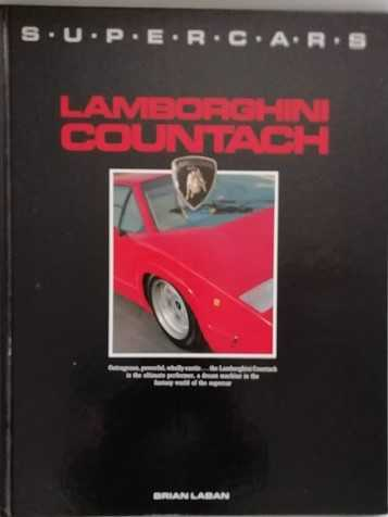 Brian Laban SUPERCARS LAMBORGHINI COUNTACH First Edition Signed