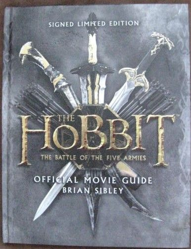 Brian Sibley THE HOBBIT THE BATTLE OF THE FIVE ARMIES Signed Limited Edition