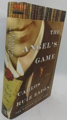 Carlos Ruiz Zafon THE ANGEL'S GAME First Edition Signed