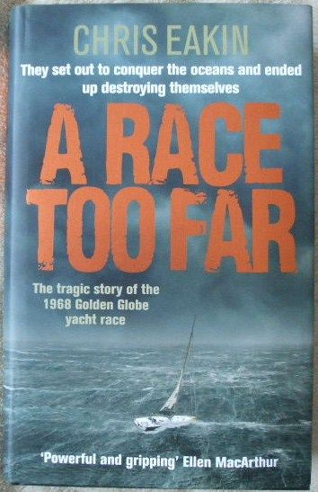 Chris Eakin A RACE TOO FAR First Edition Signed