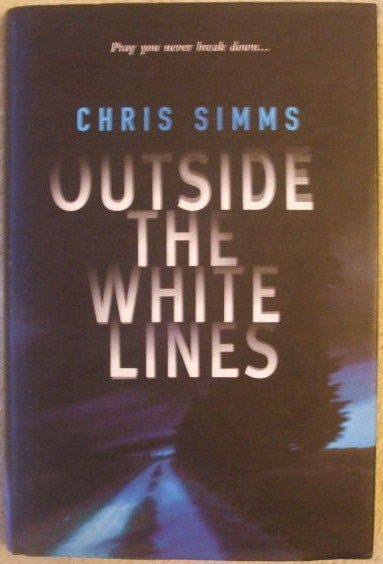 Chris Simms OUTSIDE THE WHITE LINES First Edition Signed