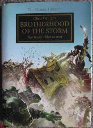 Chris Wraight BROTHERHOOD OF THE STORM Signed Limited Edition