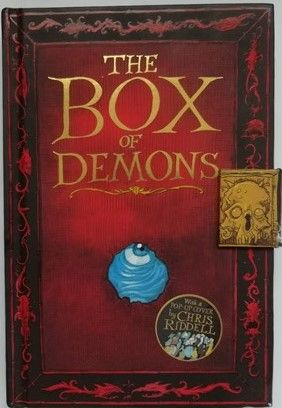 Daniel Whelan THE BOX OF DEMONS Double Signed Limited Edition