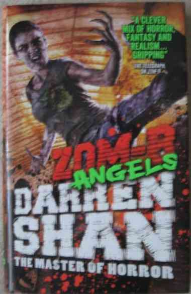 Darren Shan ZOM-B ANGELS First Edition Signed