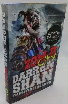 Darren Shan ZOM-B CITY First Edition Signed