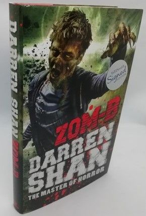 Darren Shan ZOM-B First Edition Signed