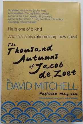 David Mitchell THE THOUSAND AUTUMNS OF JACOB DE ZOET Signed Limited Edition Uncorrected Proof