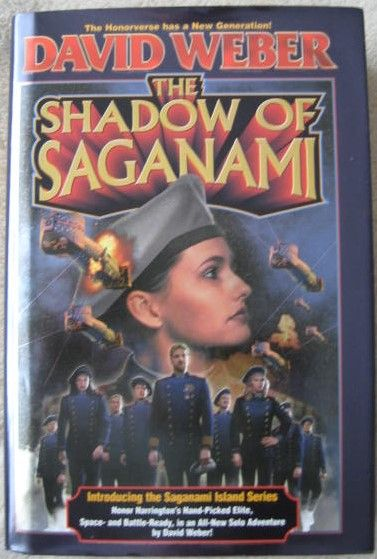 David Weber THE SHADOW OF SAGANAMI First Edition Signed