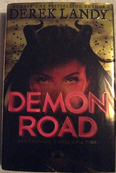 Derek Landy DEMON ROAD Signed Limited Edition