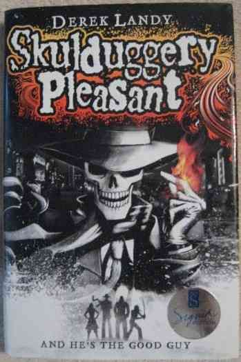Derek Landy SKULDUGGERY PLEASANT First Edition Signed