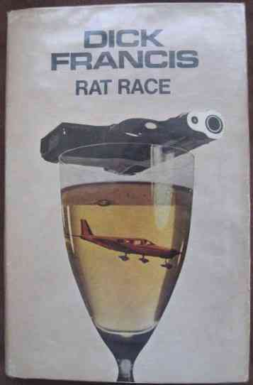 Dick Francis RAT RACE First Edition Signed