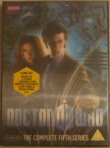 Doctor Who THE COMPLETE FIFTH SERIES DVD Box Set Sealed
