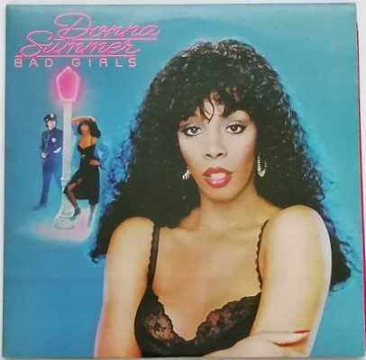 Donna Summer BAD GIRLS Double Vinyl LP
