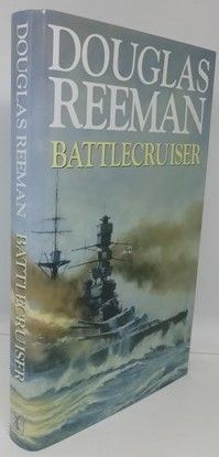 Douglas Reeman BATTLECRUISER First Edition Signed