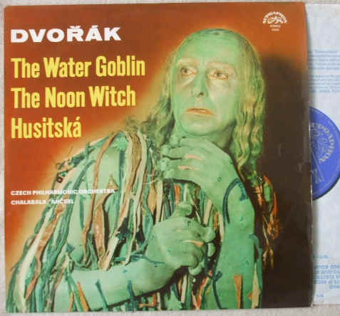 Dvorak THE WATER GOBLIN NOON WITCH HUSITSKA Vinyl LP Chalabala Ancerl