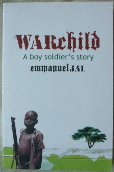 Emmanuel Jal WARCHILD Signed First Edition Paperback