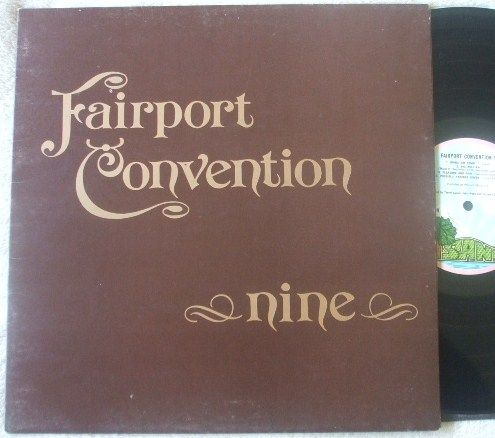 Fairport Convention NINE Vinyl LP Pink Rim