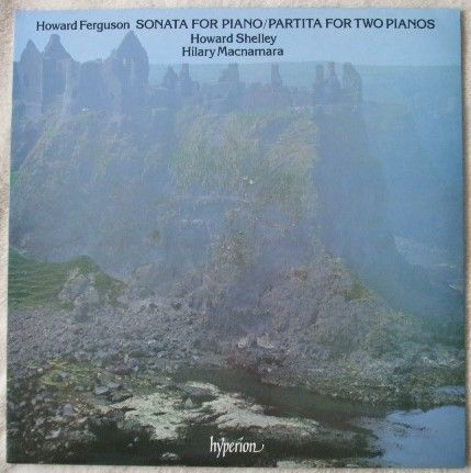 Ferguson SONATA FOR PIANO AND PARTITA FOR TWO PIANOS Vinyl LP Shelley Macnamara