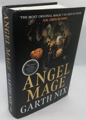 Garth Nix ANGEL MAGE First Edition Signed