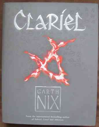 Garth Nix CLARIEL First Edition Signed