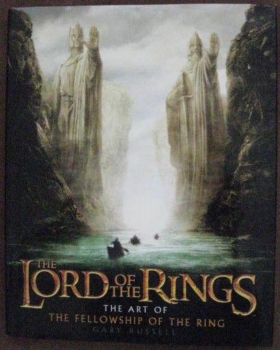 Gary Russell THE ART OF THE FELLOWSHIP OF THE RING First Edition